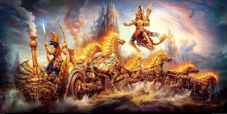 karna firing ghatotkacha