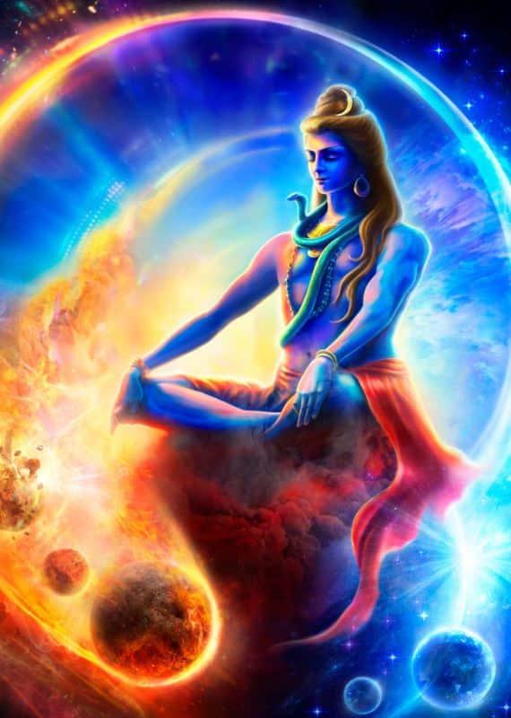 Lord Shiva DigitalArt Wallpaper for Mobile