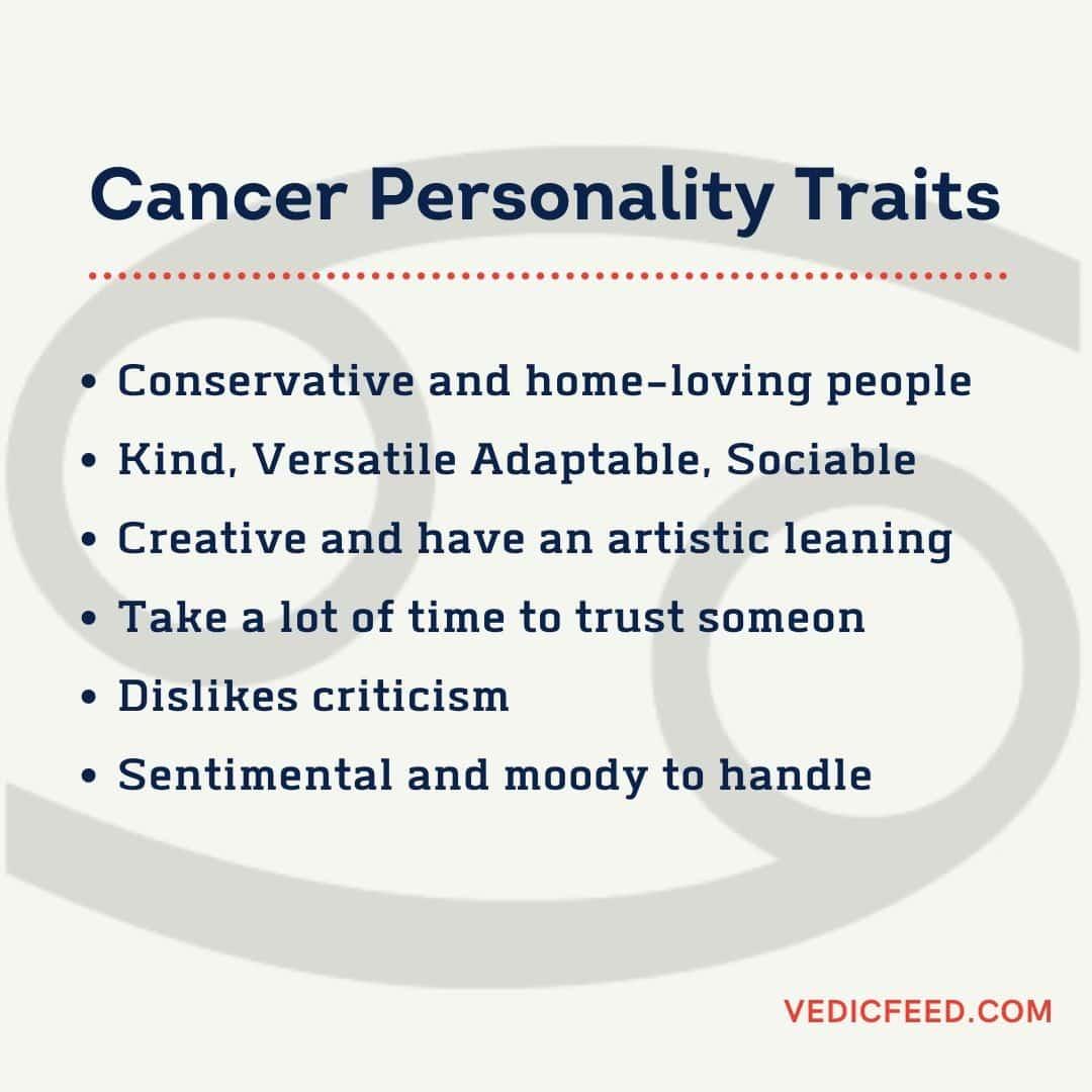 Kark Rashi - Cancer Personality Traits