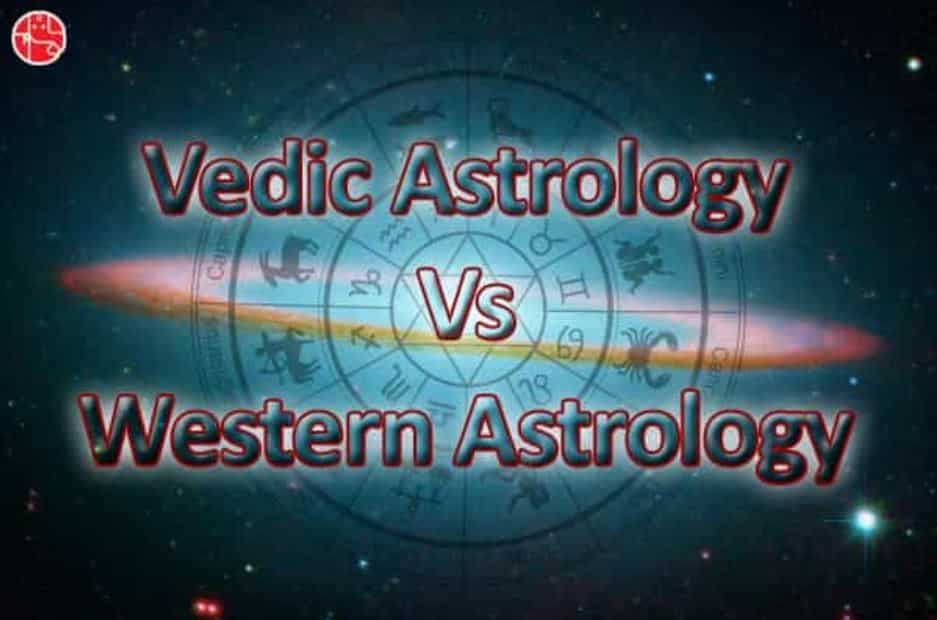 Vedic Astrology vs Western Astrology