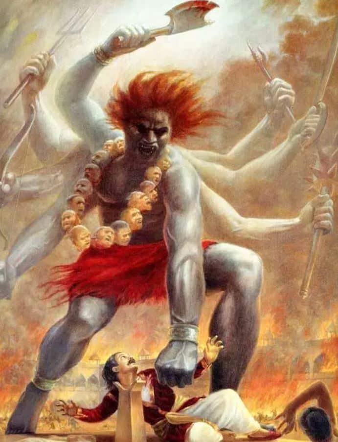 Veerbhadra and Dakshya