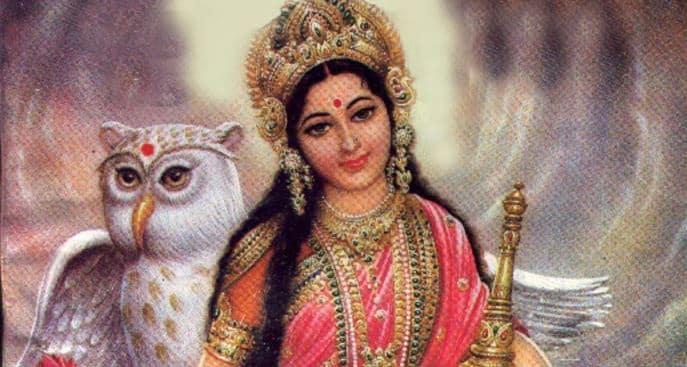 Lakshmi - Vahana Owl
