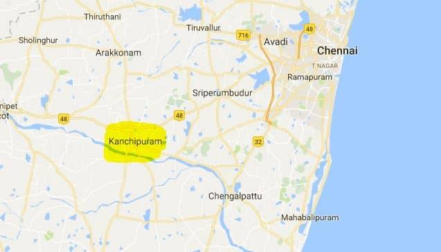 Kailasanthar Temple Map