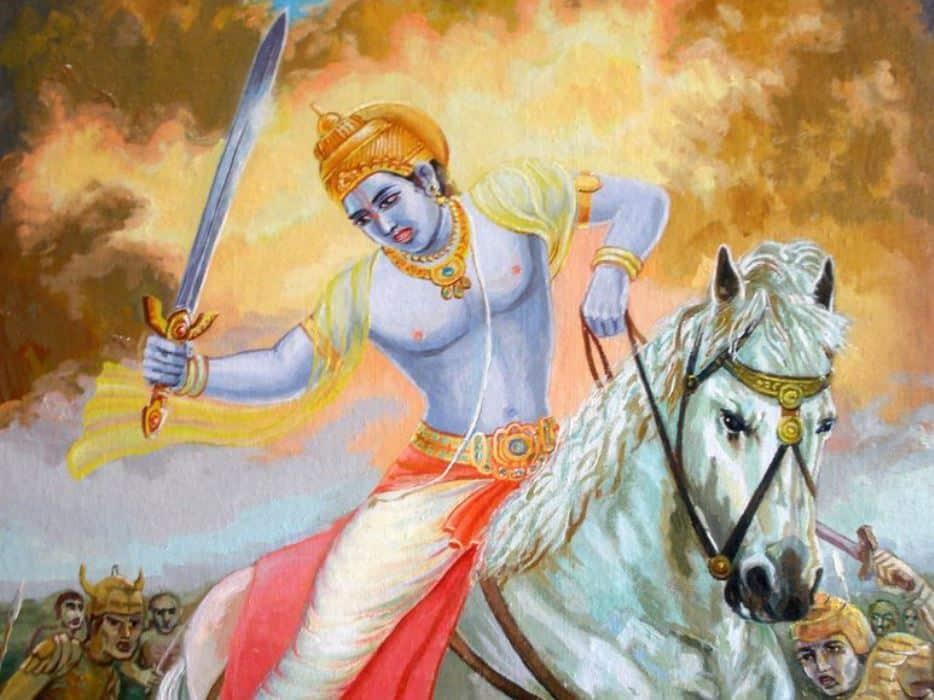 Kalki_24 Avatars of Vishnu