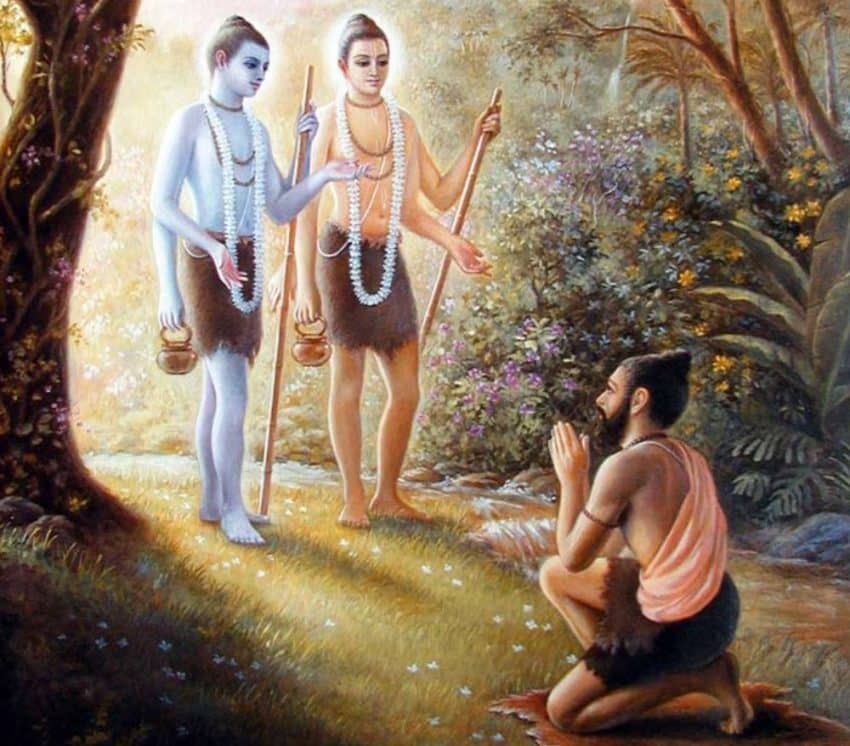 Nara and Narayana - Avatars of Vishnu