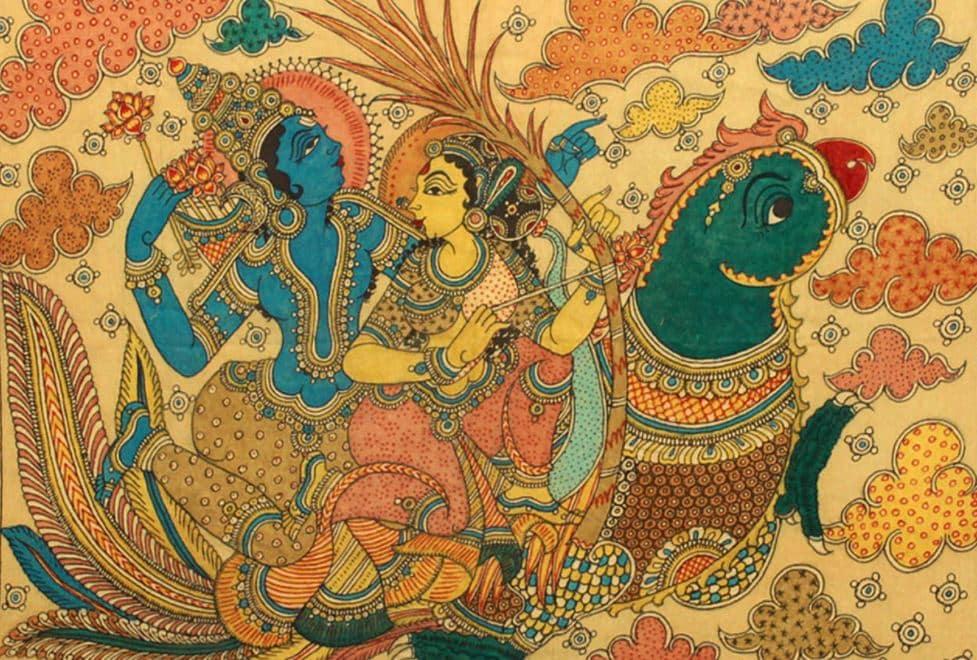 Kama Deva and Rati