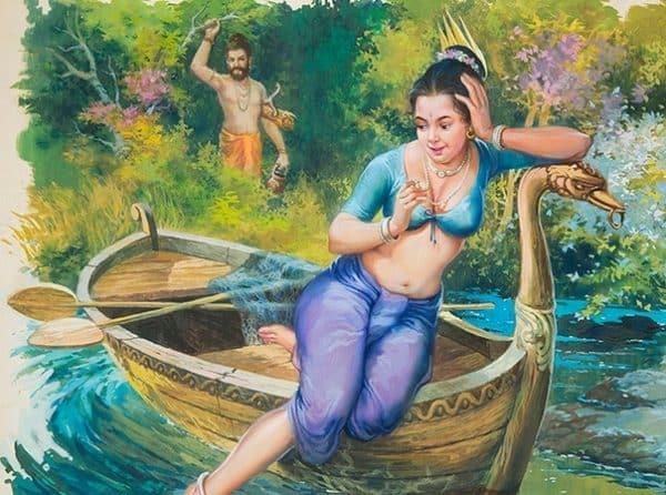 Parashar Rishi and Satyavati