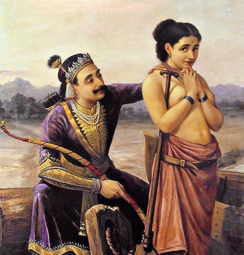Satyavati and King Shantanu