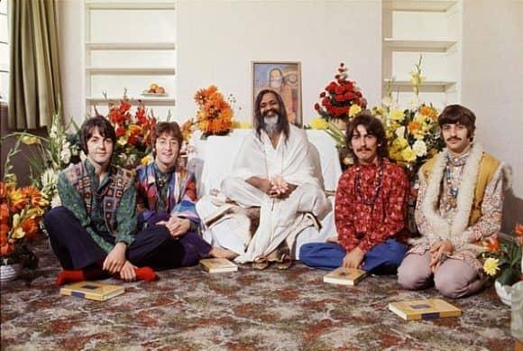 Maharishi Mahesh Yogi and Beatles