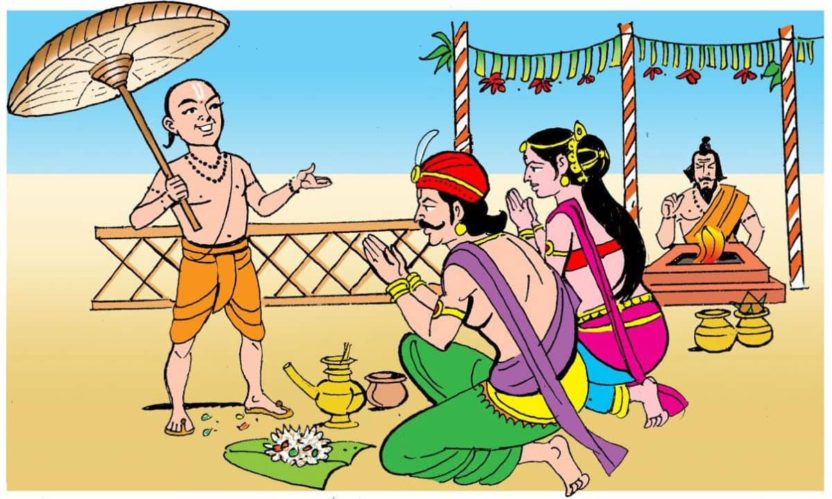 King Mahabali and Vamana Avatar of Lord Vishnu