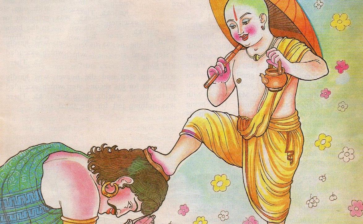 King Mahabali and Vamana Avatar