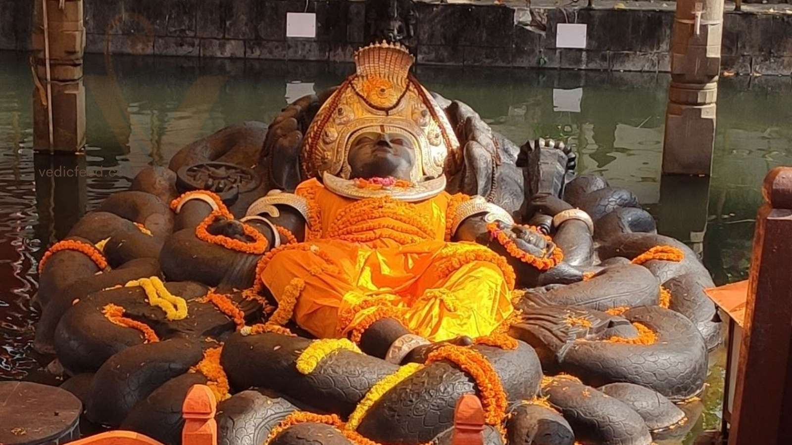 Sleeping Vishnu Statue