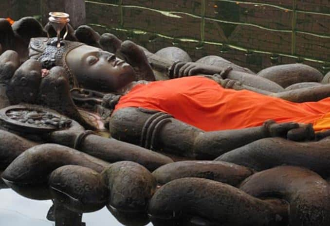 Sleeping buddha - Vishnu