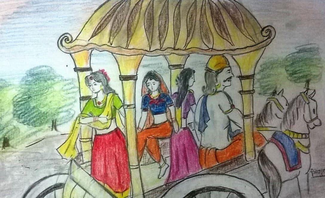 Amba, Ambika and Ambalika from Mahabharata