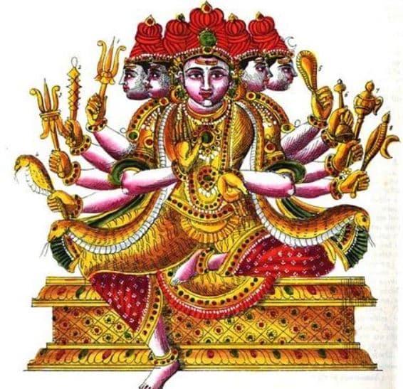 Suntantarka Avatar Shiva