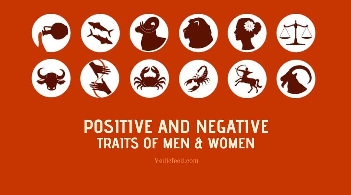 Negative and Positive Traits of Man & Woman