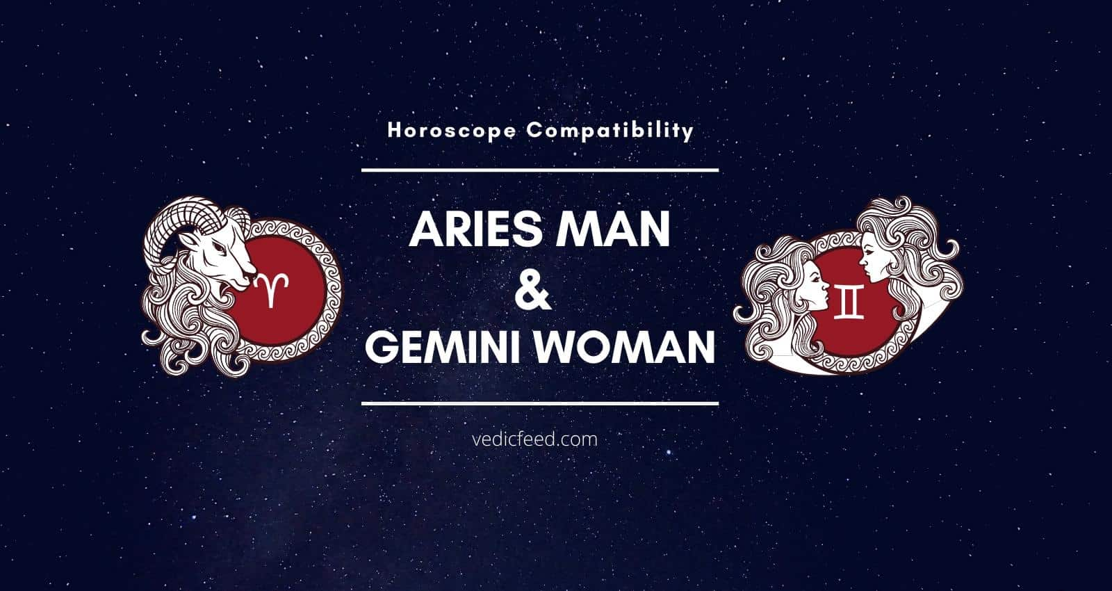 Aries Man and Gemini Woman Compatibility