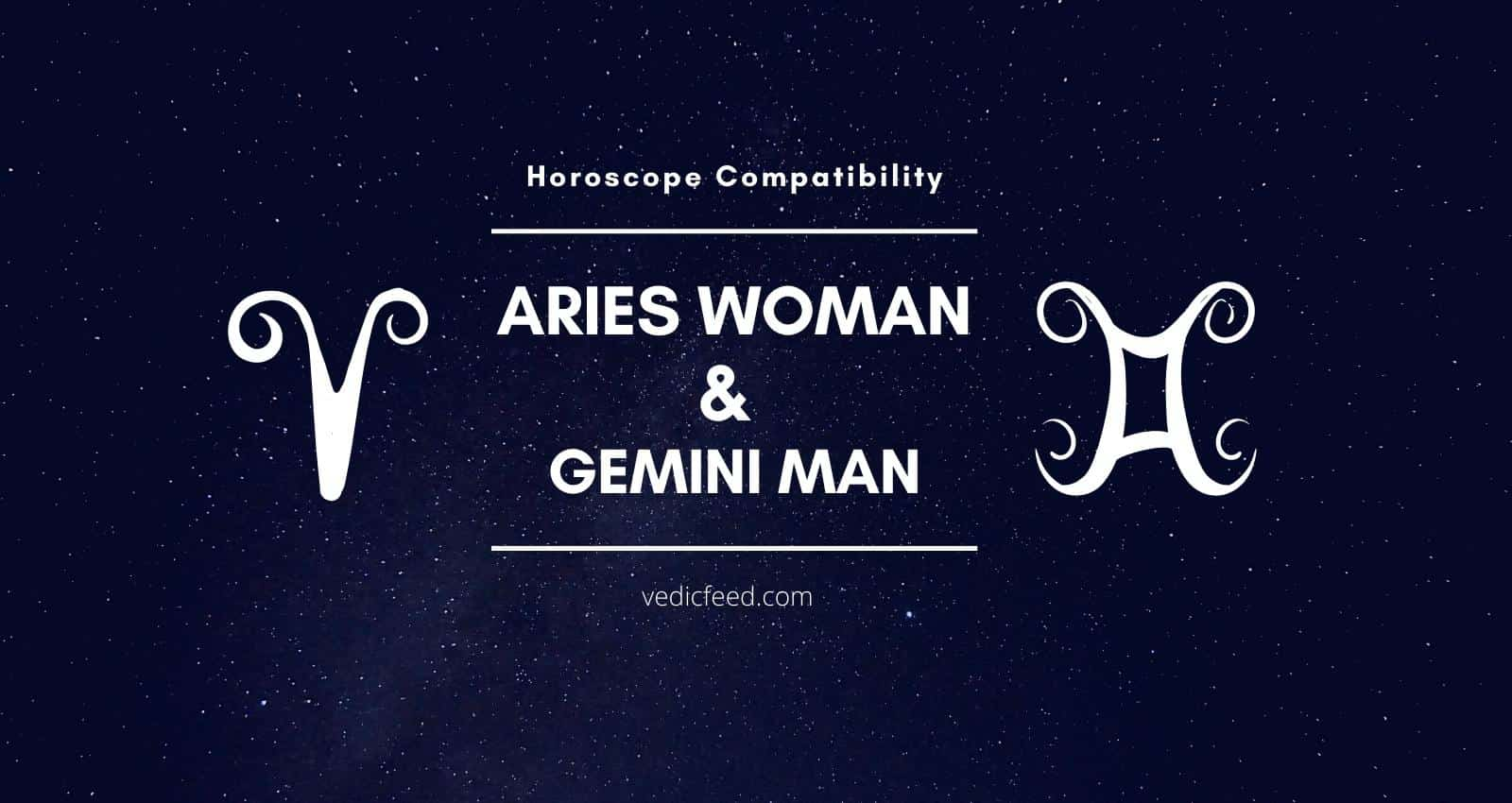 Aries Woman and Gemini Man Compatibility