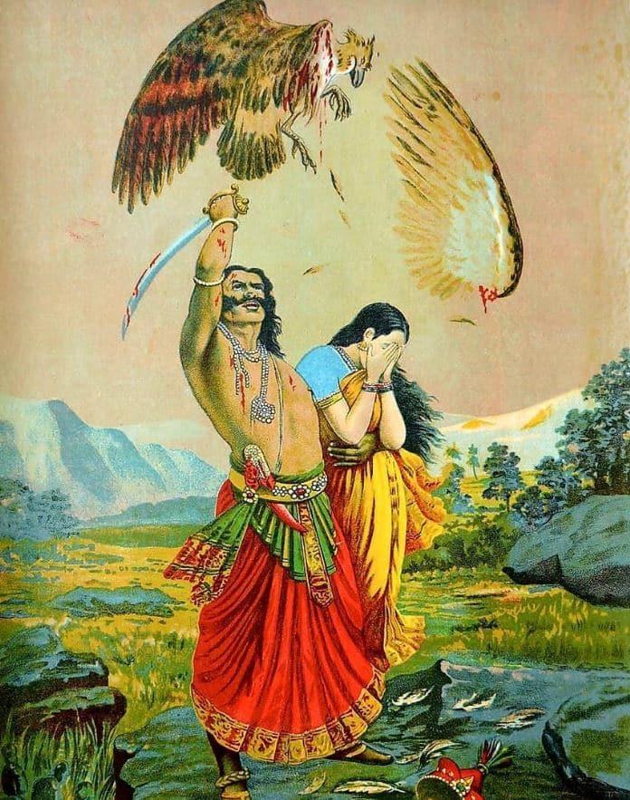 Ravana abducted sita
