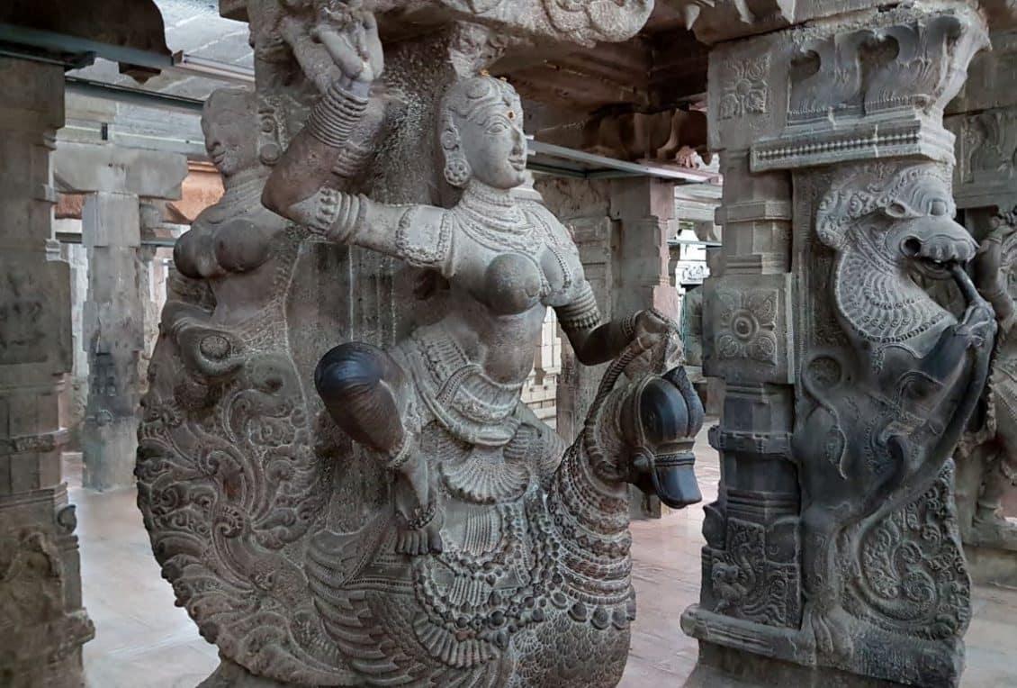 Goddess Meenakshi Sculpture