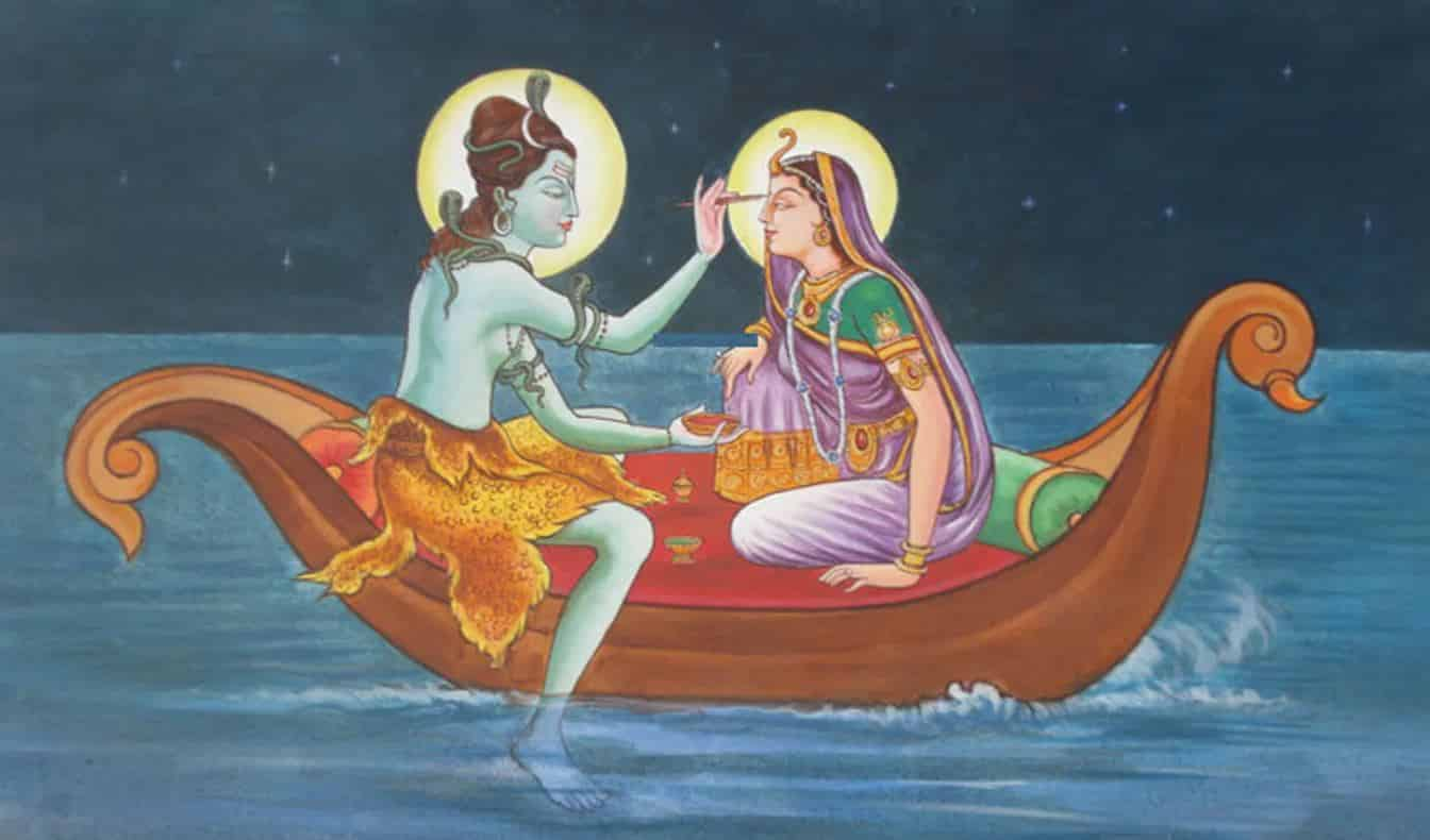 Shiva Parvati - Fisherwoman