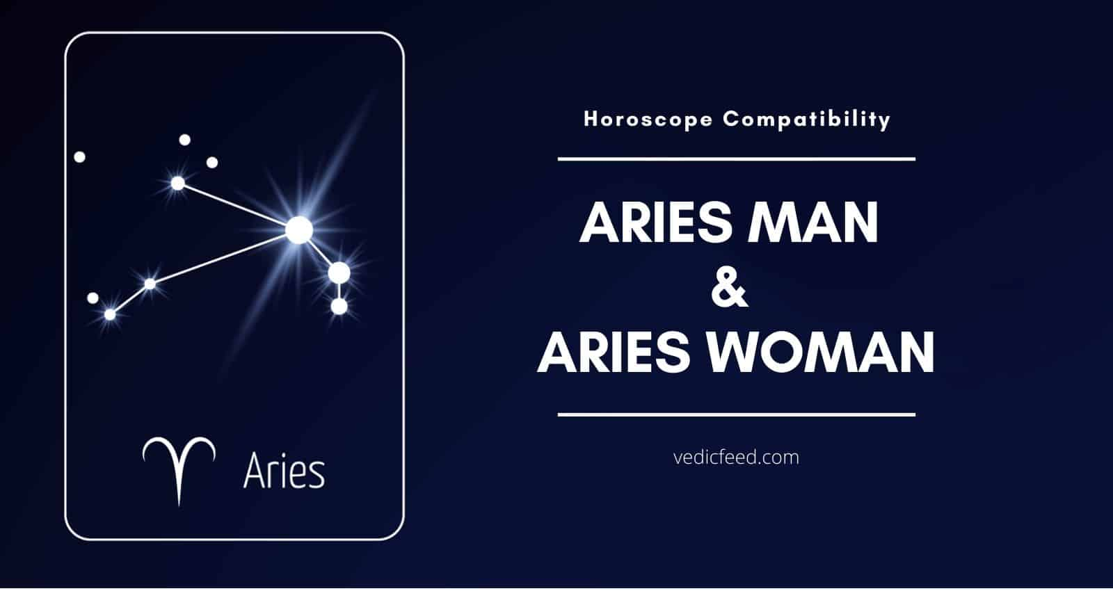 Aries Man and Woman Compatibility