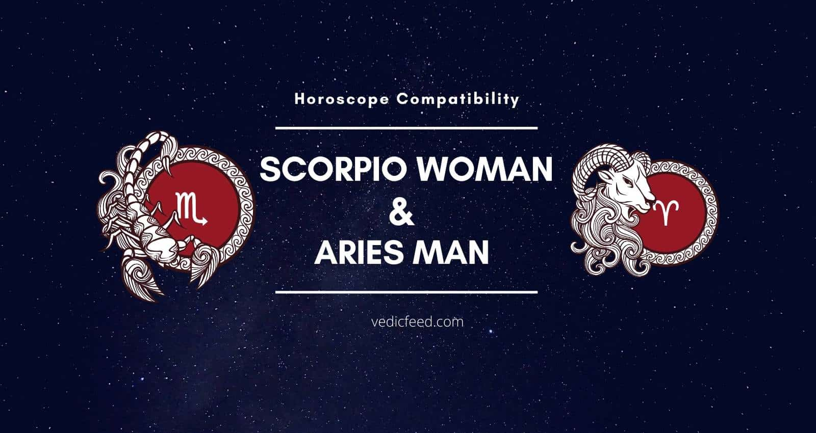 Scorpio Woman and Aries Man