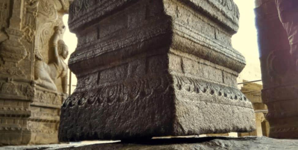 Hanging Pillar Lepakshi Temple