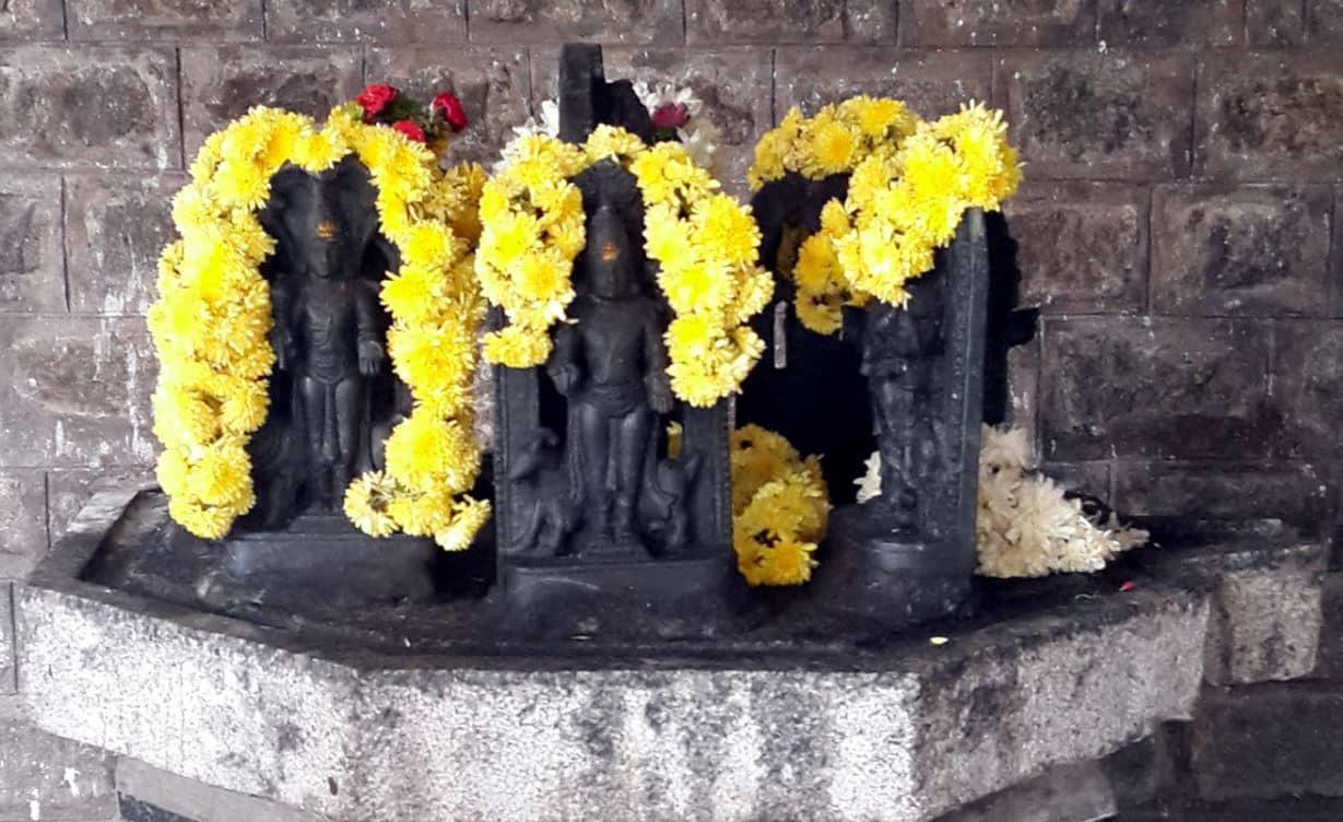 Navagraha Shrine at Nandi Tirtha