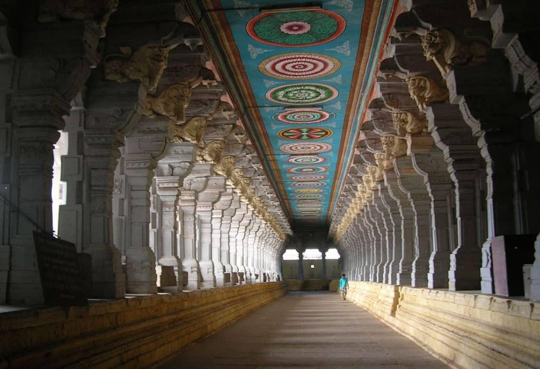 Rameswaram Temple Pillars