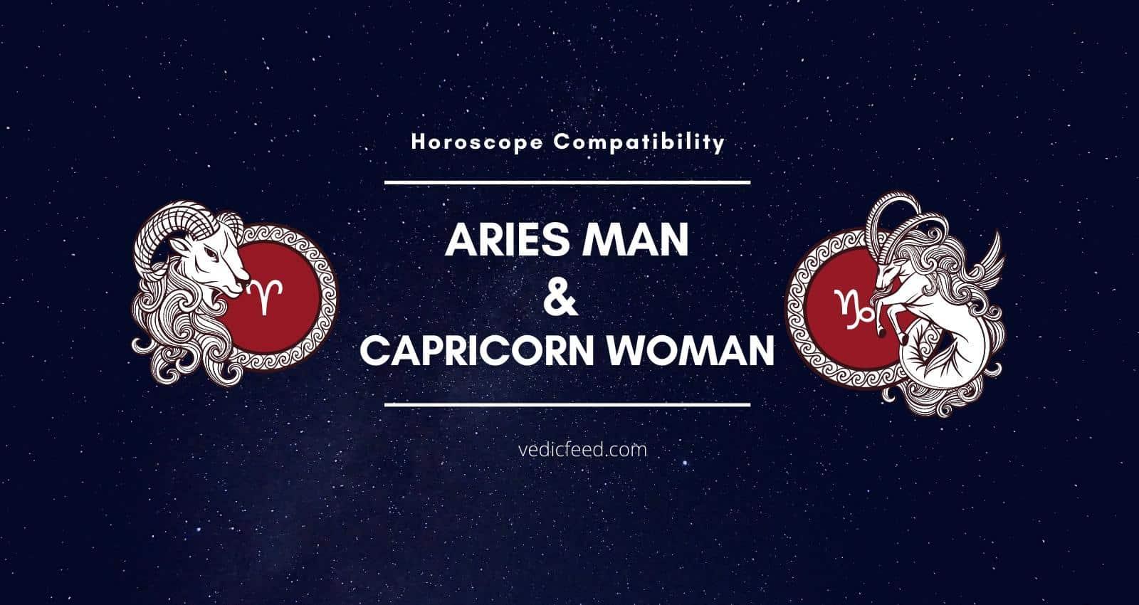 Aries Man and Capricorn Woman