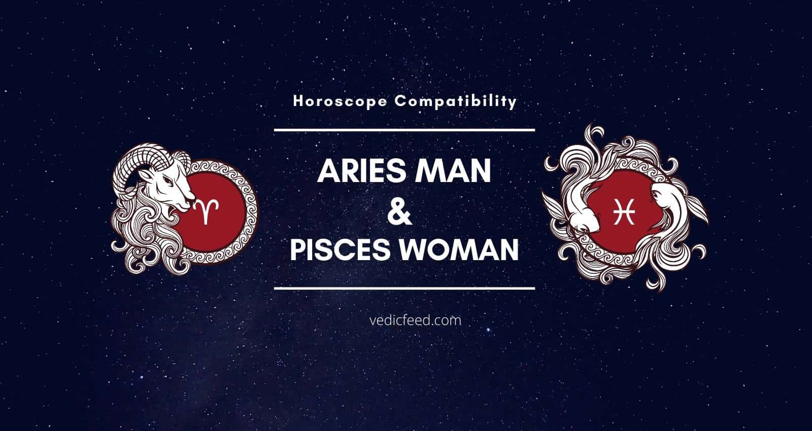 Aries Man and Pisces Woman