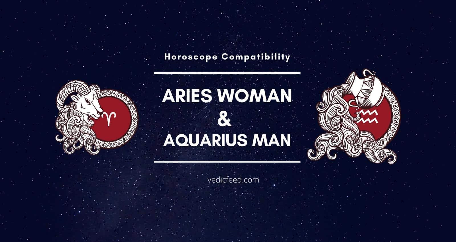 Aries Woman and Aquarius Man