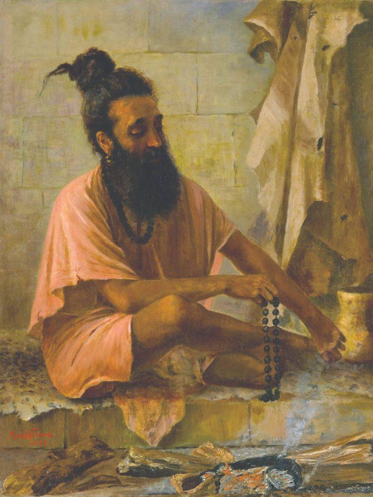 Rishi Vishwamitra in Meditation