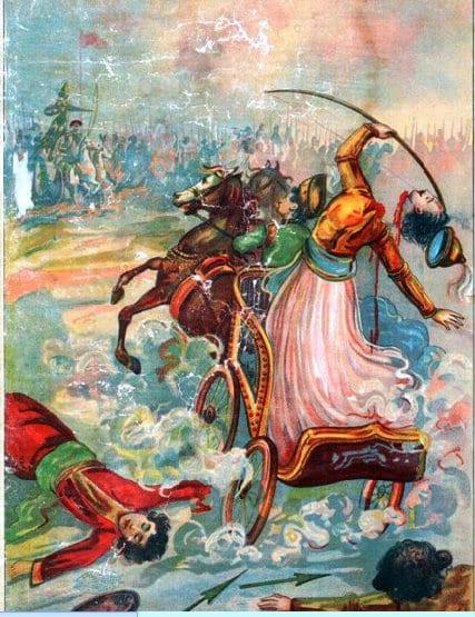 Death of Abhimanyu