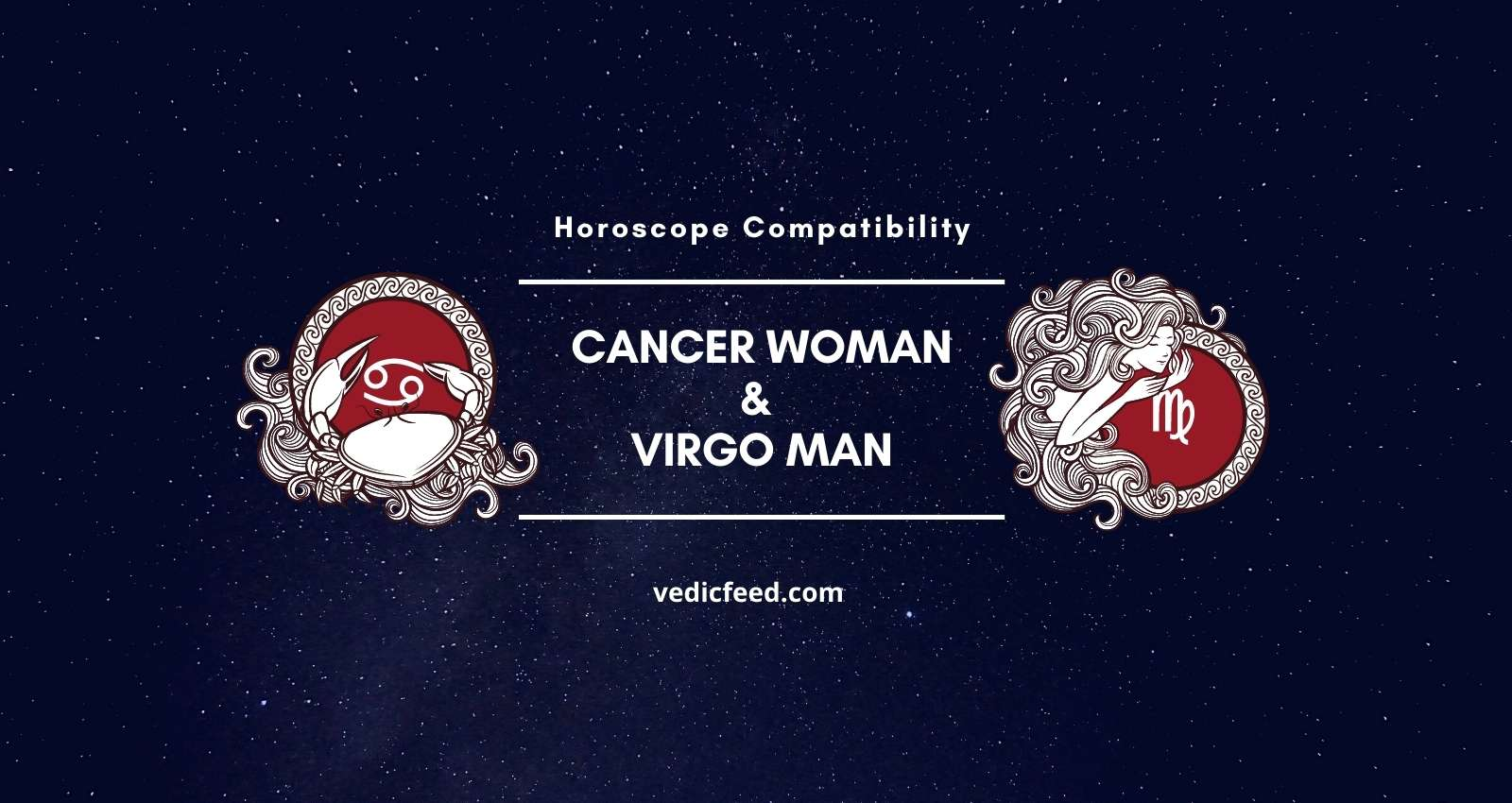 Cancer match virgo love Cancer and