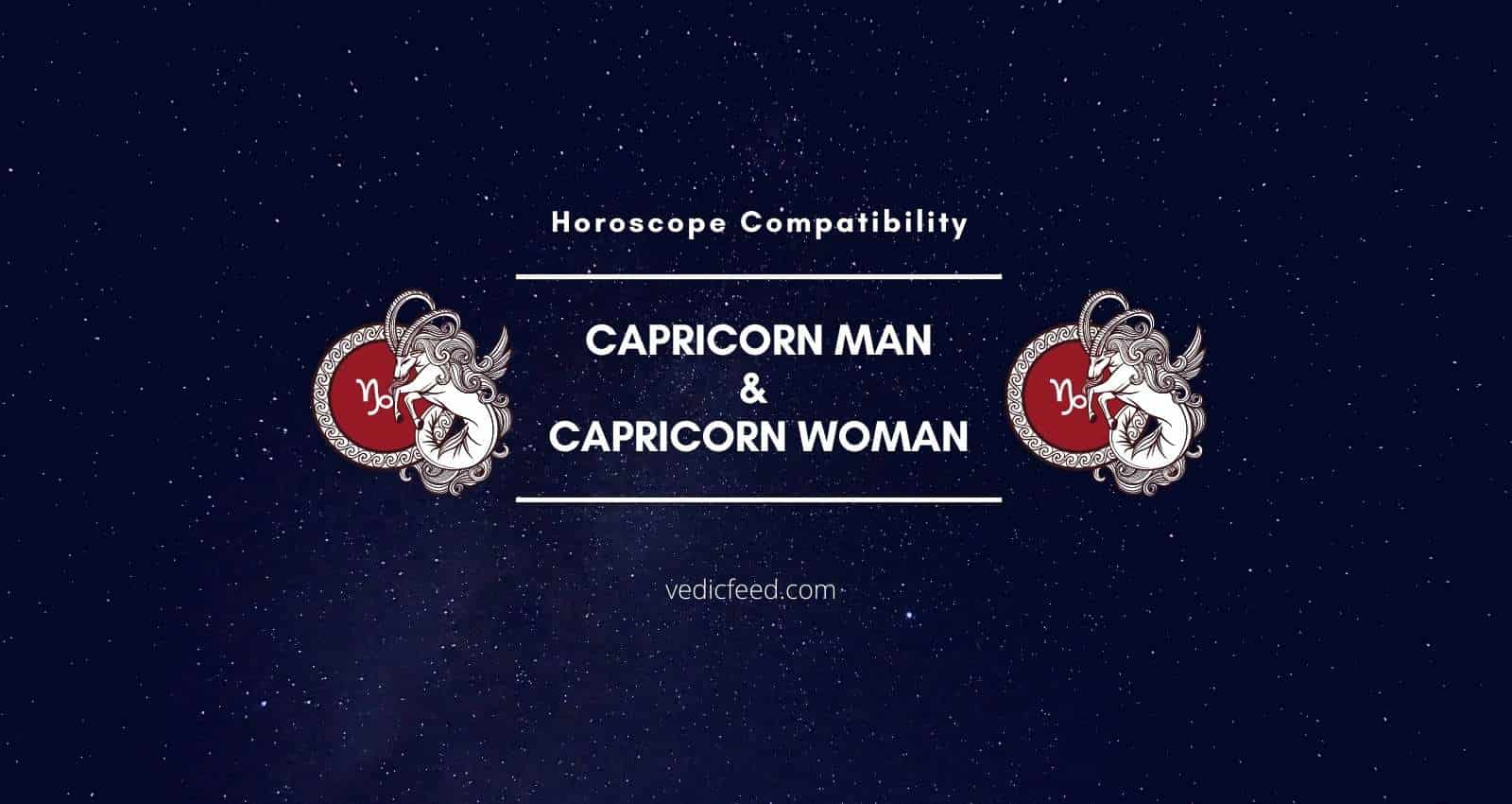 Capricorn Man and Capricorn Woman Compatibility