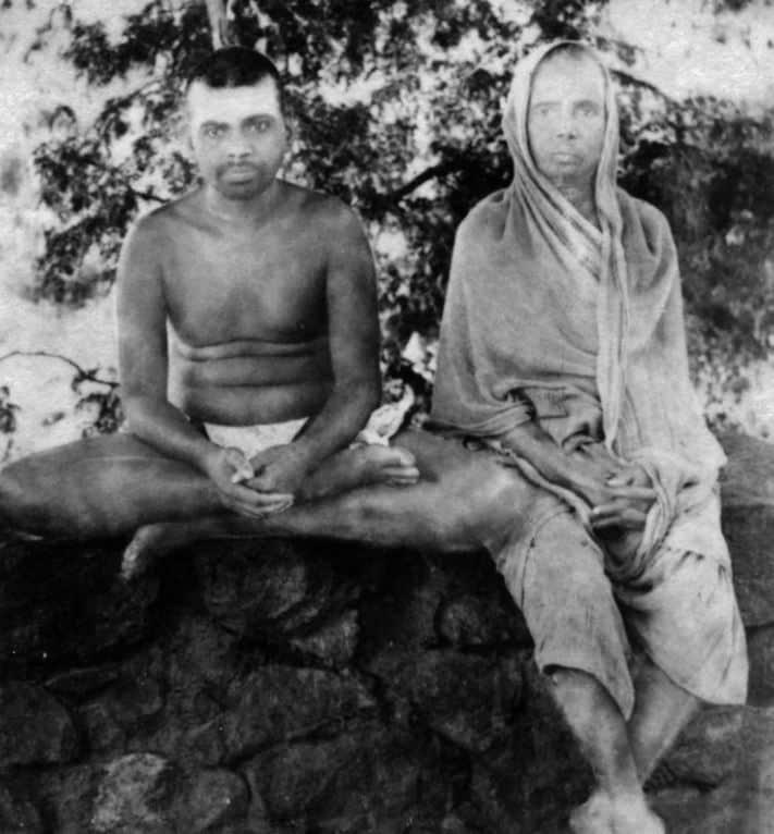 Sri Ramana Maharshi and his mother