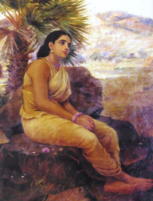 Devi Sita on Exile
