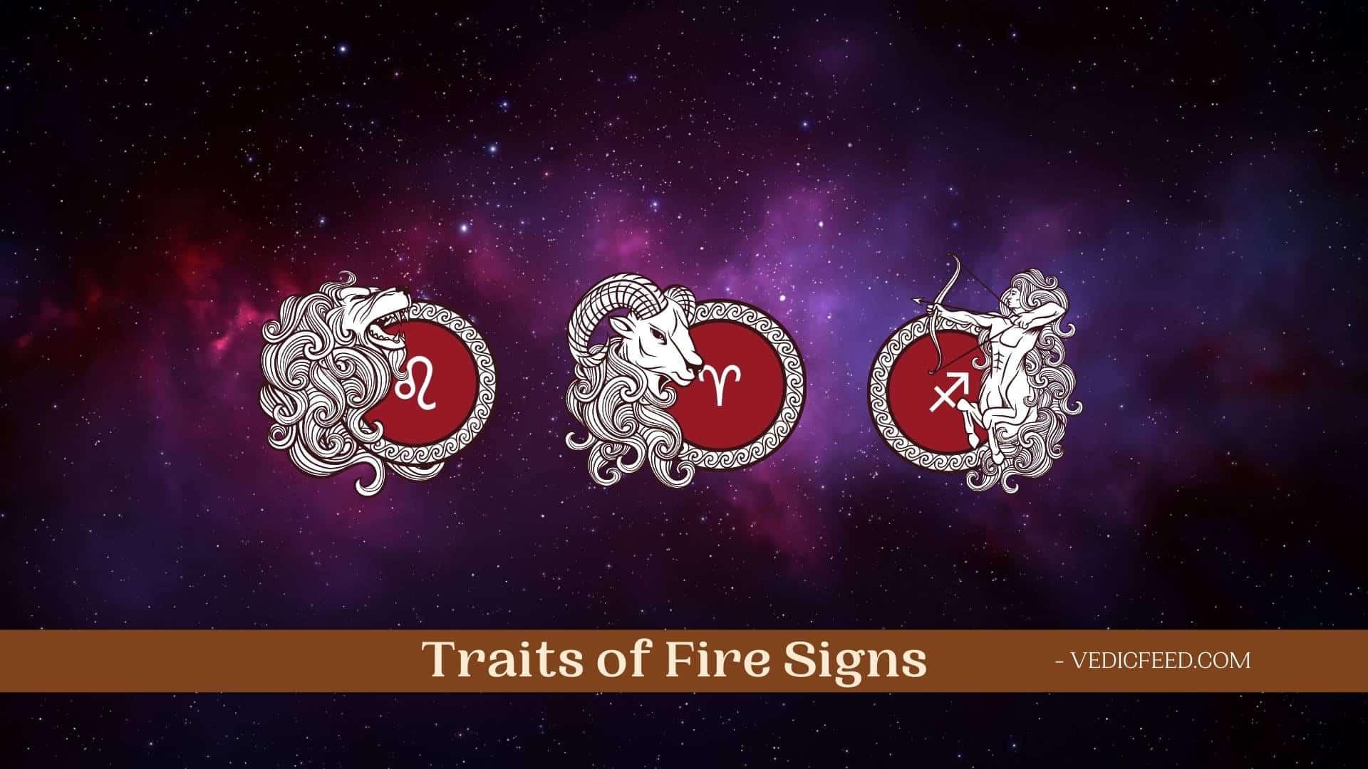 Fire Signs Zodiac