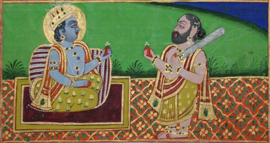 Agastya Muni and Lord Rama