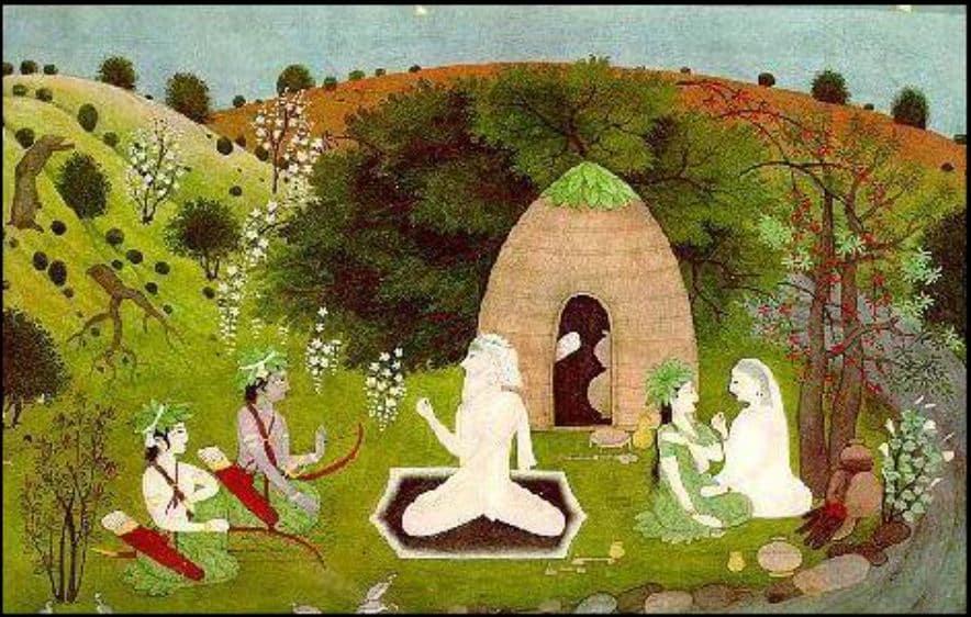 Lord Rama Visits Sage Atri